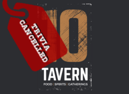 10 Tavern Trivia Cancelled
