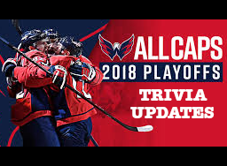 2018 Caps Playoffs - Trivia Update