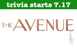 The Avenue Trivia Starts