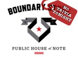 Boundary Stone No Trivia Tonight