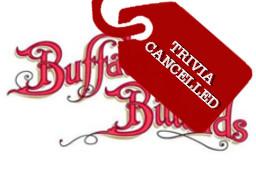 Buffalo Billiards Trivia Cancelled