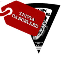 Iron Horse Trivia Cancelled