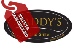 Maddy's Trivia Cancelled