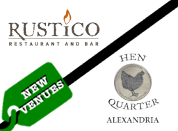 Rustico and Hen Quarter New Venues