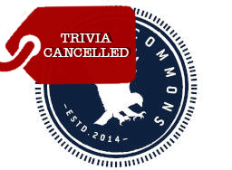 Penn Commons - Trivia Cancelled