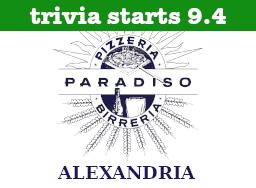 Pizzeria Paradiso Alexandria Start Date