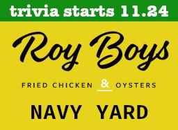 Roy Boys Navy Yard Start Date
