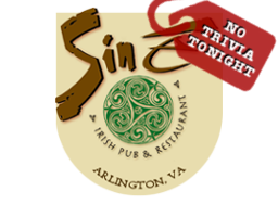 Sine Irish Pub No Trivia Tonight