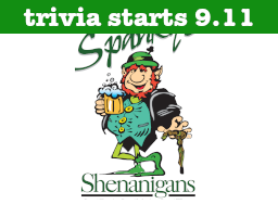 Spanky's Trivia Returns 9-11