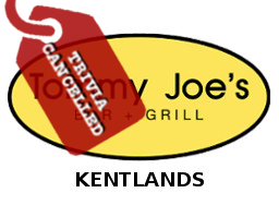 Tommy Joe's Kentlands Cancelled