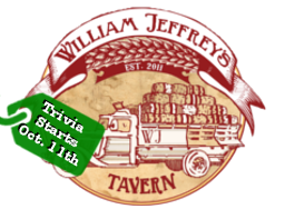 William Jeffrey's Tavern Start Date
