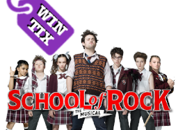 Win School of Rock Tickets