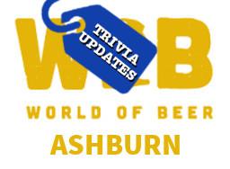 World of Beer Ashburn Trivia Update