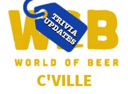 World of Beer Charlottesville Trivia Updates